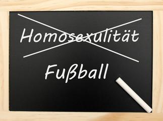 Homosexualität & Fußball