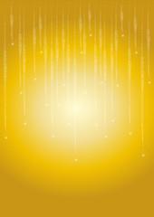 Pioggia di stelle dorate