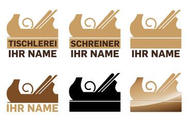 Tischler Logo Vorlagen