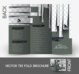Beauty Care & Salon Tri-Fold Mock up & Brochure Design.