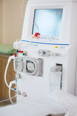 Advanced Dialysis Machine In Chemo Room