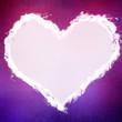 Grungy Valentine's background