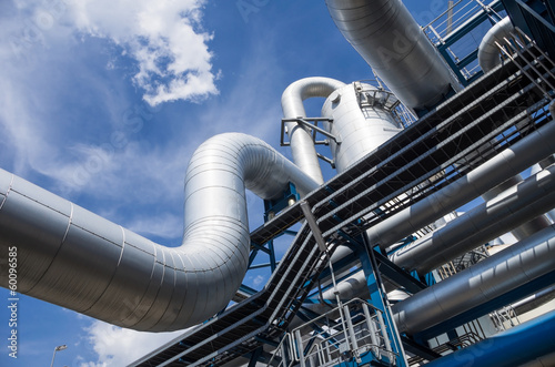 Fotobehang Industrial geb. industrial pipes