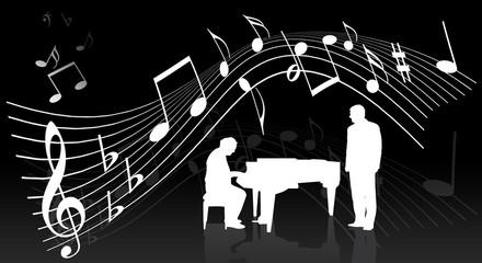 Klavierkonzert mit Noten