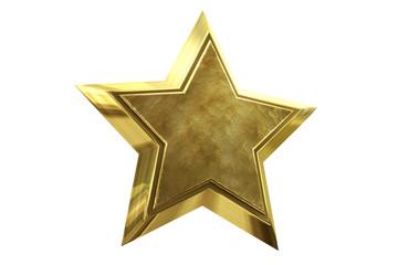 Goldstern - Emblem Medaille