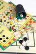 canvas print picture - Spielesammlung