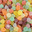 jelly bean  candies as background
