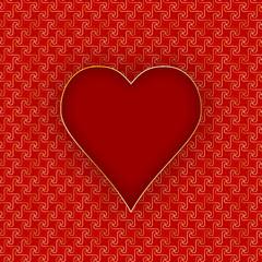 CARTE COEUR (je t'aime fête amoureux saint valentin déclaration)