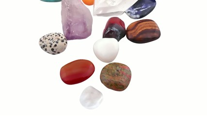 many kinds of crystal stones