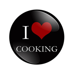 I Love Cooking button