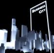 Business city concept 3d Urban development