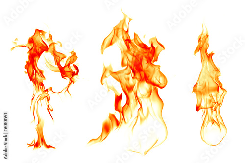 Leinwandbild Motiv Fire
