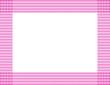 Pink Polka Dot Frame