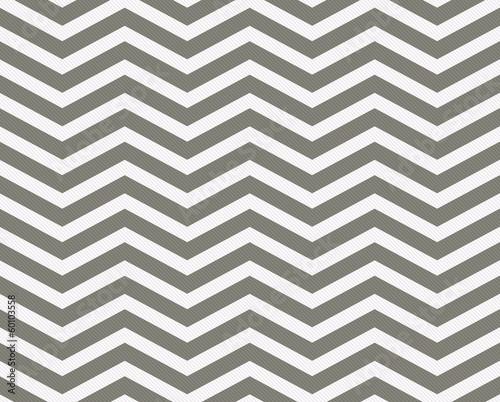 Gray and White Zigzag Textured Fabric Background © Karen Roach