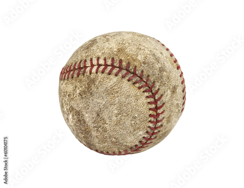 Old Grungy Baseball
