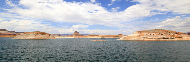 panoramique lac powell, Arizona-Utah