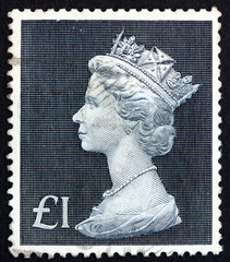 Postage stamp GB 1969 Her Majesty the Queen Elizabeth II