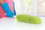cleaning using Soft duster