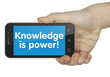 Knowledge is power! Phone