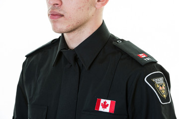 Police Student in Uniform