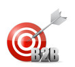 b2b target illustration design