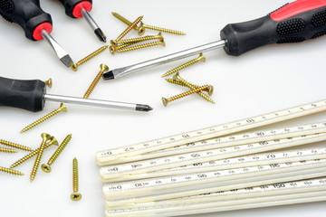 Verschiedenes Werkzeug für den Heimwerker