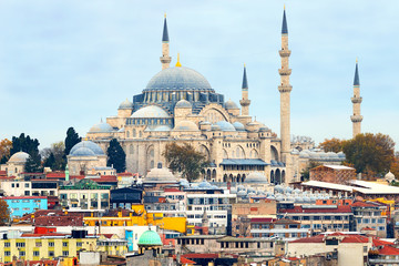 The Blue Mosque or Sultan Ahmet Cami