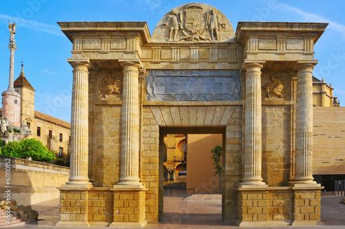 Puerta del Puente in Cordoba, Spain