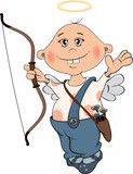 Cupidon boy cartoon