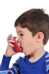Boy inhales himself