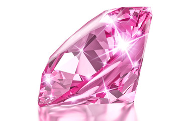 Pink luxury diamond