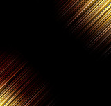 Abstract vector backgrounds. Rays of light