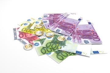 Euro banknotes - legal tender of the European Union