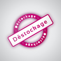 Déstockage - Illustration vectorielle