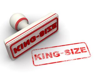 King-size (большой). Печать и оттиск