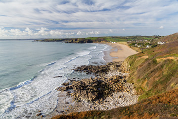 Praa Sands Beach Cornwall