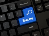 Keyboard with a word suche