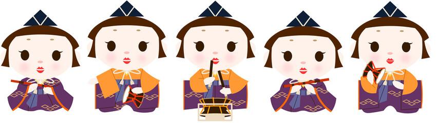 雛人形五人囃子