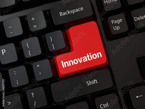 Keyboard with a word innovation