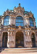 Wall pavilion of the Zwinger - palace in Dresden, Germany. Today