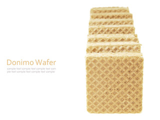 straight wafer domino