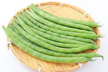 新鮮ないんげん豆