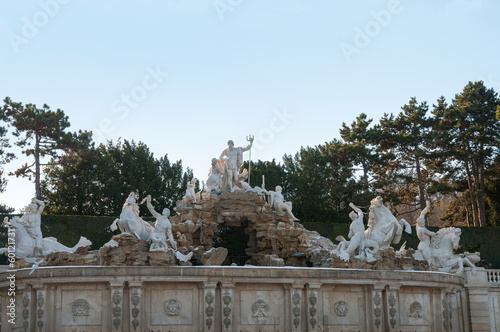 Wasserspiel in Schloss Schönbrunn