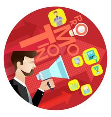 Business Promotion Concept vector