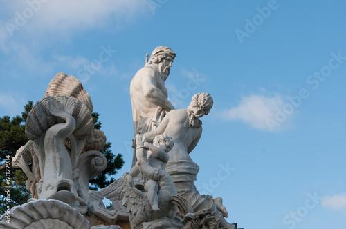 Neptunbrunnen in Schloss Schönbrunn