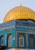 Temple mount closeup