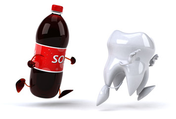 Tooth and soda