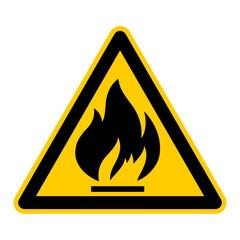 symbol for flammable german feuergefährliche Stoffe g409