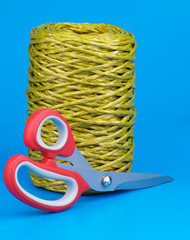 Bamboo Thread and Scissors