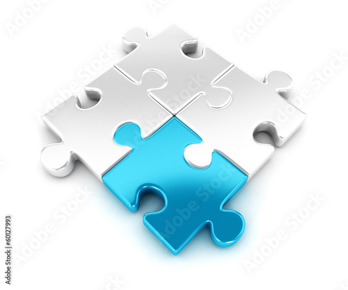 3d pieces of puzzle